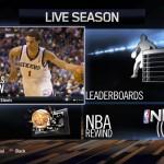 NBA Live 14: LIVE Season Hub