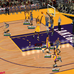 Short leaner in NBA Live 2000