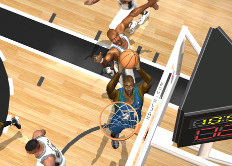 Kevin Garnett in NBA Live 2003