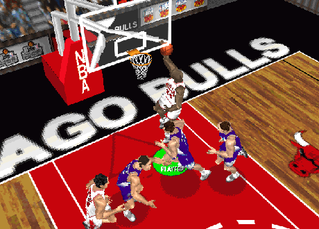 Michael Jordan's Roster Player in NBA Live 97