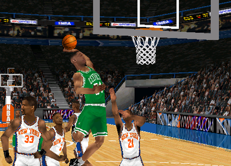 Paul Pierce in NBA Live 99