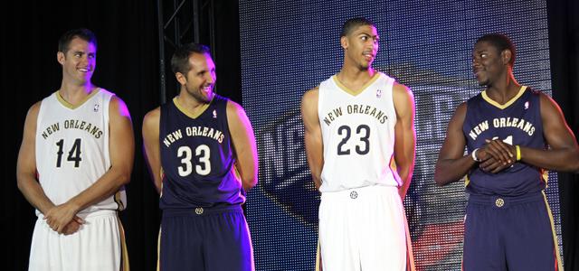 560a4221d New Orleans Pelicans Unveil Jerseys  NBA 2K14 Screenshot