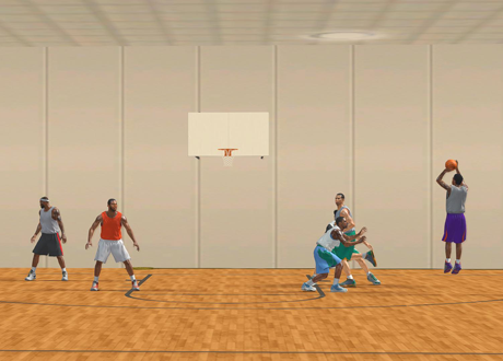 New NBA 2K13 Gym by JaoSming
