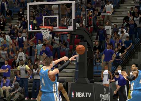 Finding a cutting teammate in NBA 2K13's MyCAREER Mode