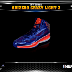 NBA 2K14: Adizero Crazy Flight 3
