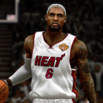 LeBron James in NBA 2K14
