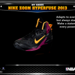 NBA 2K14: Nike Zoom Hyperfuse 2013
