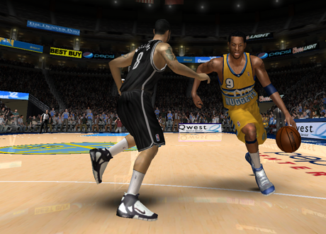 Andre Igoudala & Deron Williams in the NLSC Roster Update for NBA Live 08