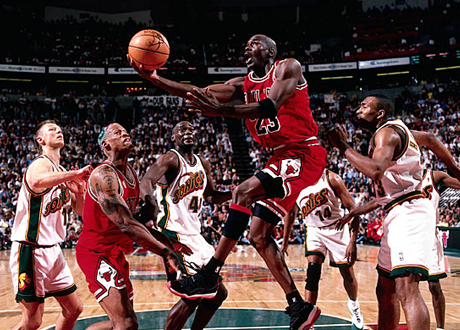 Michael Jordan in the 1996 NBA Finals