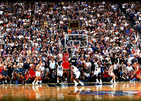 Michael Jordan's Gamewinner in the 1998 NBA Finals