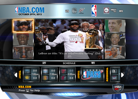 Association Mode in NBA 2K14 PC