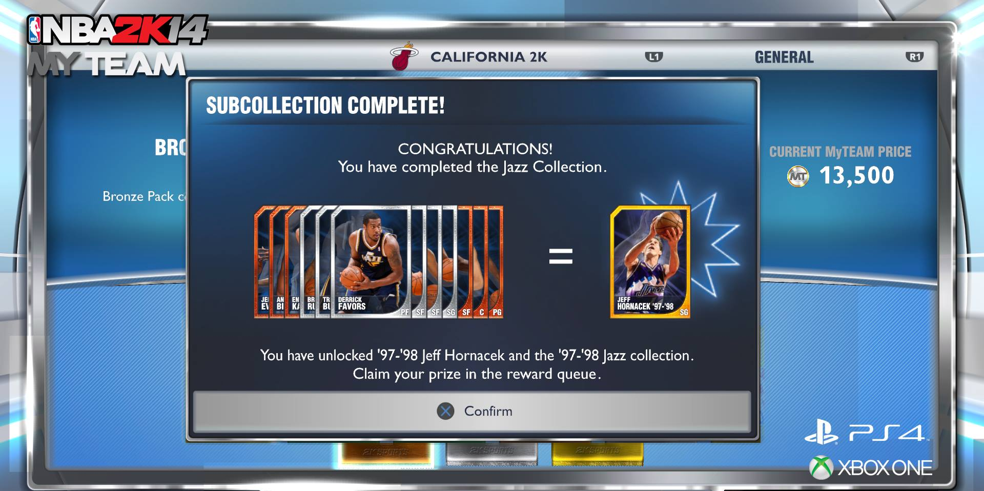 NBA 2K14 Next Gen: Full Collection in MyTEAM
