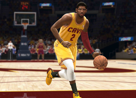 Kyrie irving in NBA Live 14