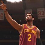 Kyrie Irving directs traffic in NBA Live 14