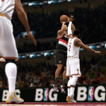 Damian Lillard vs Kyrie Irving in NBA Live 14