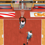 Another dunk in International Basketball 2009