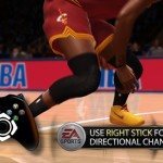 NBA Live 14: Right Stick Dribbling