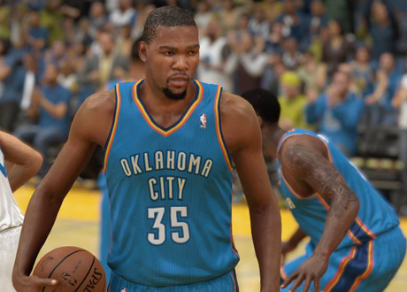 Kevin Durant in NBA 2K14 Next Gen