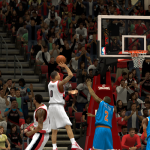 Damian Lillard with the one-hander in NBA 2K14 PC