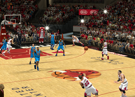 A bad idea in NBA 2K14