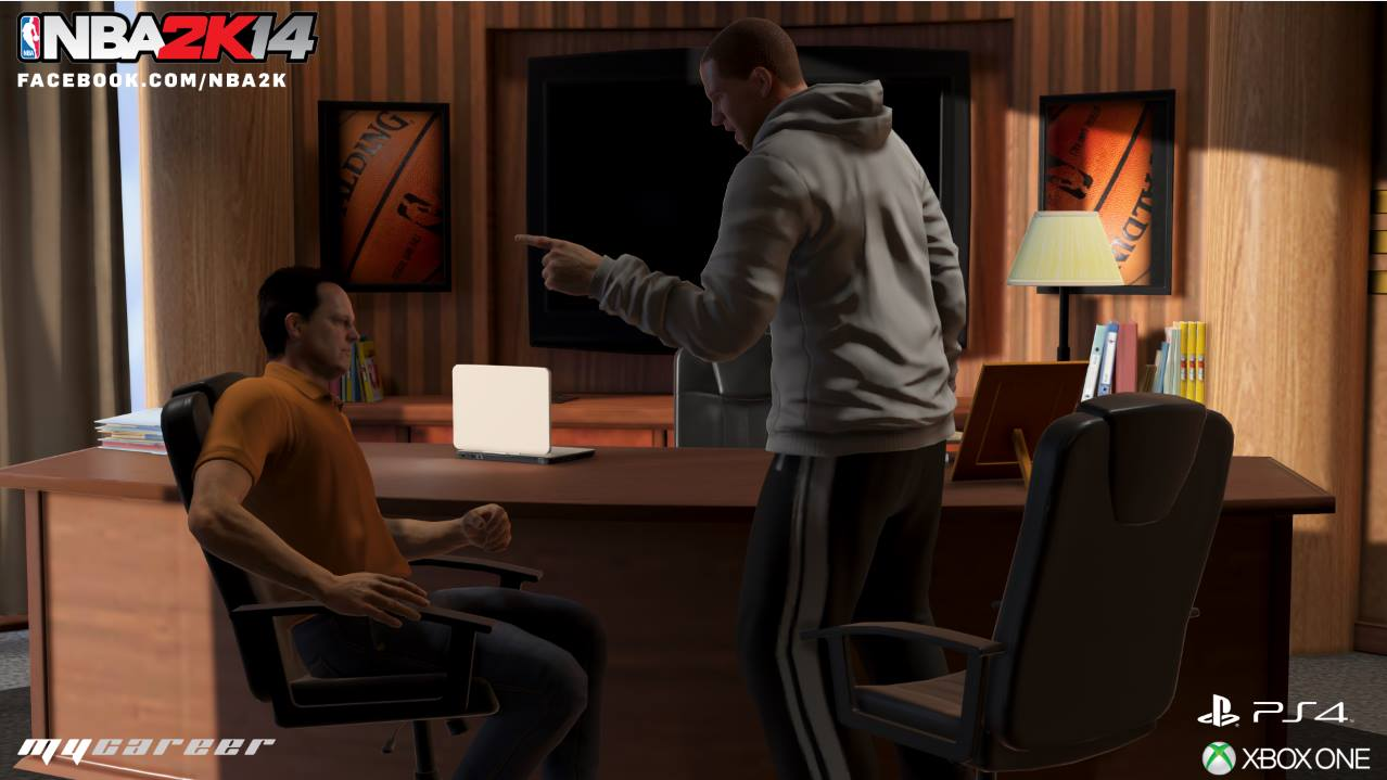 NBA 2K14 Next Gen: MyCAREER - GM