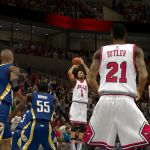 Derrick Rose for three in NBA 2K14 PC