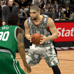 The San Antonio Spurs' Military Night jersey in NBA 2K14 PC