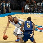 Russell Westbrook vs. John Lucas III in NBA 2K14 PC