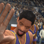 Messing with the cameraman in NBA Live 2003