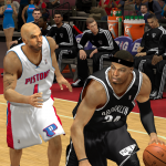 Chauncey Billups and Paul Pierce in NBA 2K14 PC