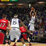 Rudy Gay on the Sacramento Kings in NBA 2K14 PC