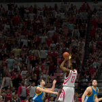 James Harden attempts a jumpshot in NBA 2K14 PC
