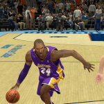 Kobe Bryant taking on the Charlotte Bobcats in NBA 2K14 PC