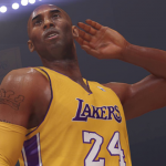 Kobe Bryant celebrates in NBA 2K14 Next Gen