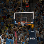 LeBron James takes on the Nuggets in NBA 2K14 PC