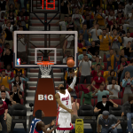 Dwyane Wade with the reverse layup in NBA 2K14 PC