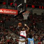LaMarcus Aldridge vs. the Nuggets in NBA 2K14 PC