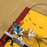 Kevin Durant takes on the Heat in NBA 2K14 PC