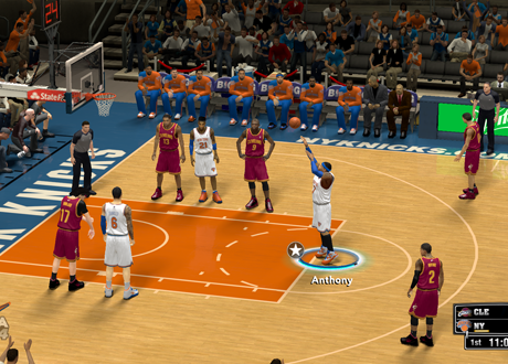 Free Throw Shooting in NBA 2K14 PC