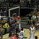 Paul George lays it in against the Clippers in NBA 2K14 PC
