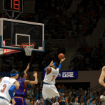 Carmelo Anthony lays it in against the Suns in NBA 2K14 PC