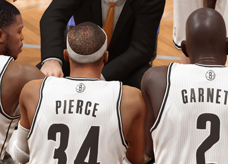 The Brooklyn Nets in NBA 2K14 Next Gen