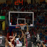 Greg Oden dunks iin NBA 2K14 PC