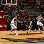 Ricky Rubio vs. Damian Lillard in NBA 2K14 PC