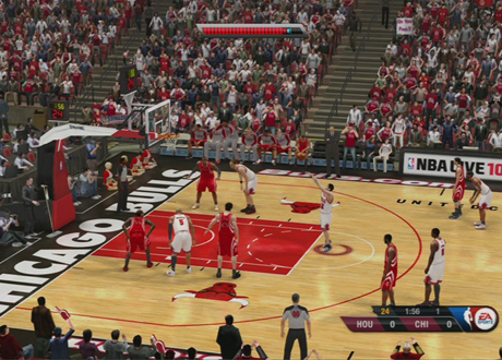 Free Throw Shooting in NBA Live 10