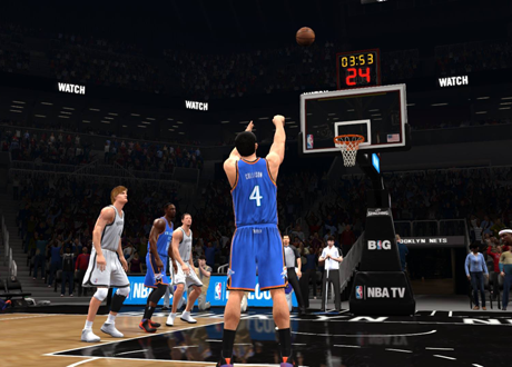Free Throw Shooting in NBA Live 14