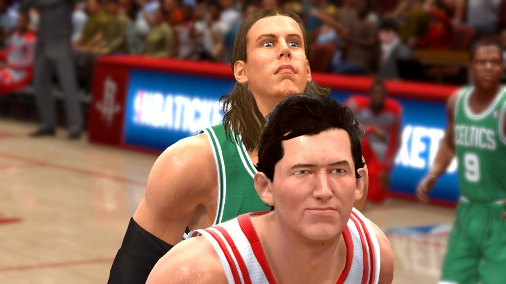 Kelly Olynyk Crazy Face - NBA Live 14