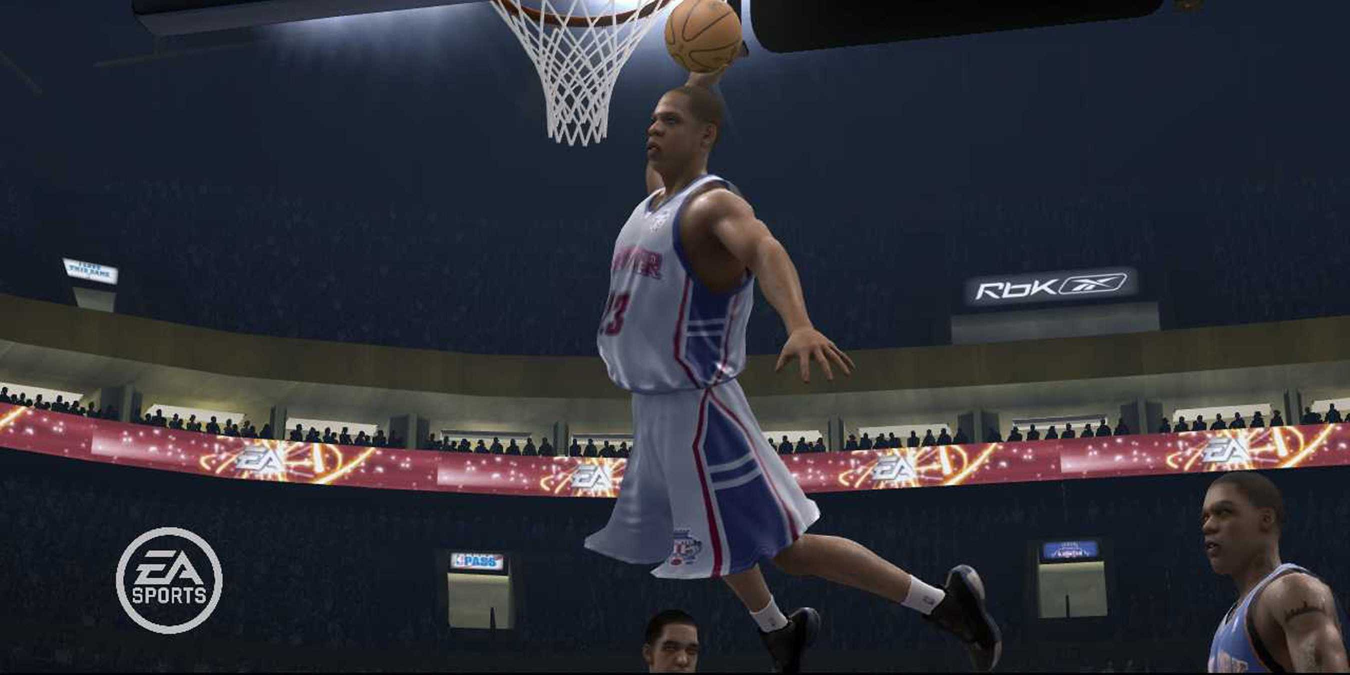 Jay Z in NBA Live 07.