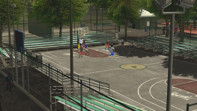 NBA 2K14 Rucker Park Day