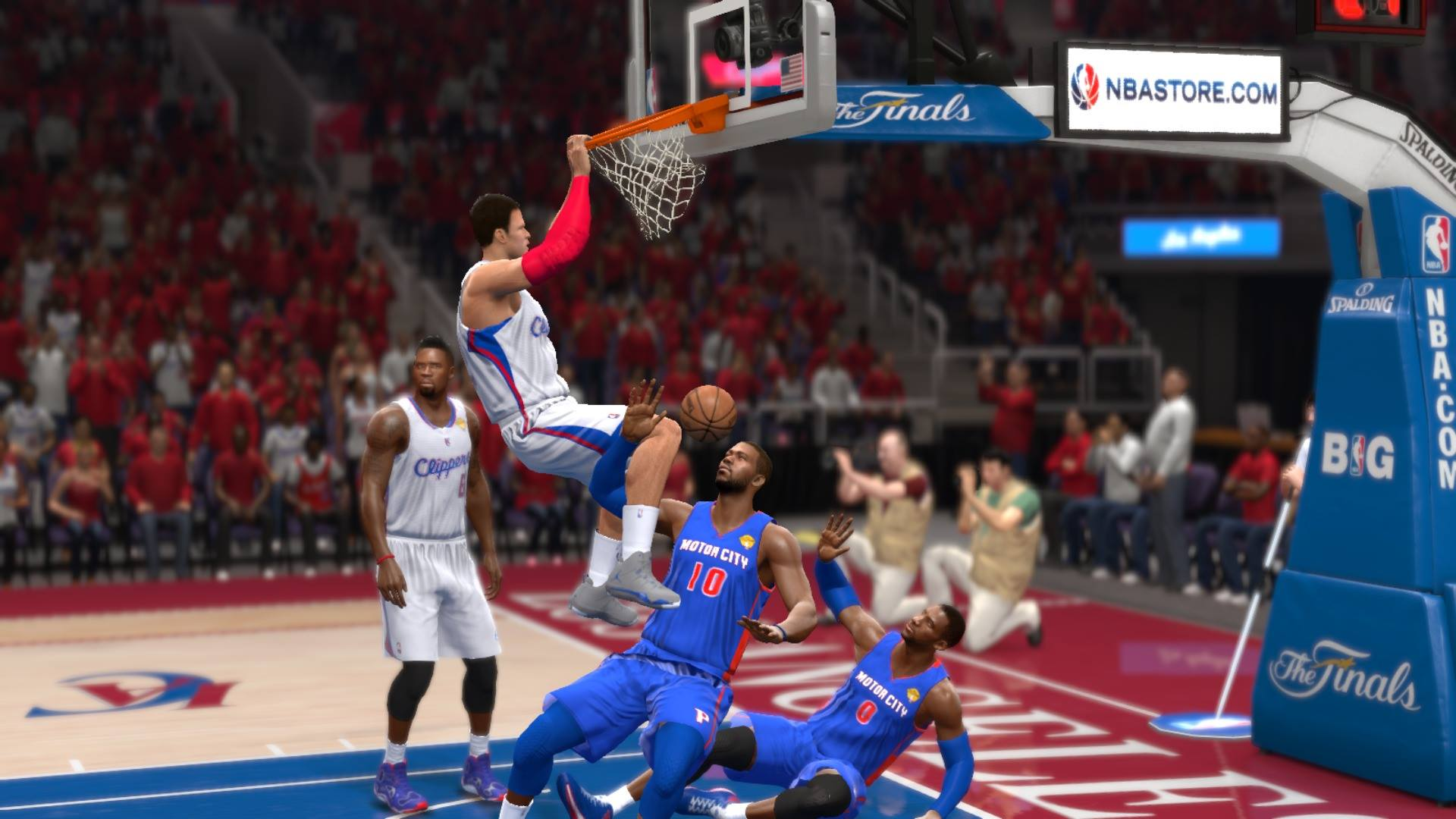 NBA Live 14 Blake Griffin Dunk